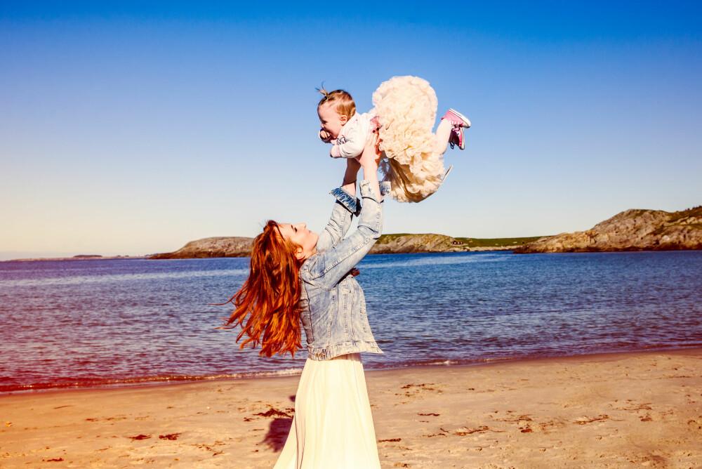 LYKKE: Mamma Marta er lykkelig over å ha fått Veronica inn i livet sitt.