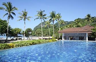 VAKKERT: Koh Muk er en bitteliten øy utenfor Krabi. Fin for foreldre, og derfor fin for babyer.