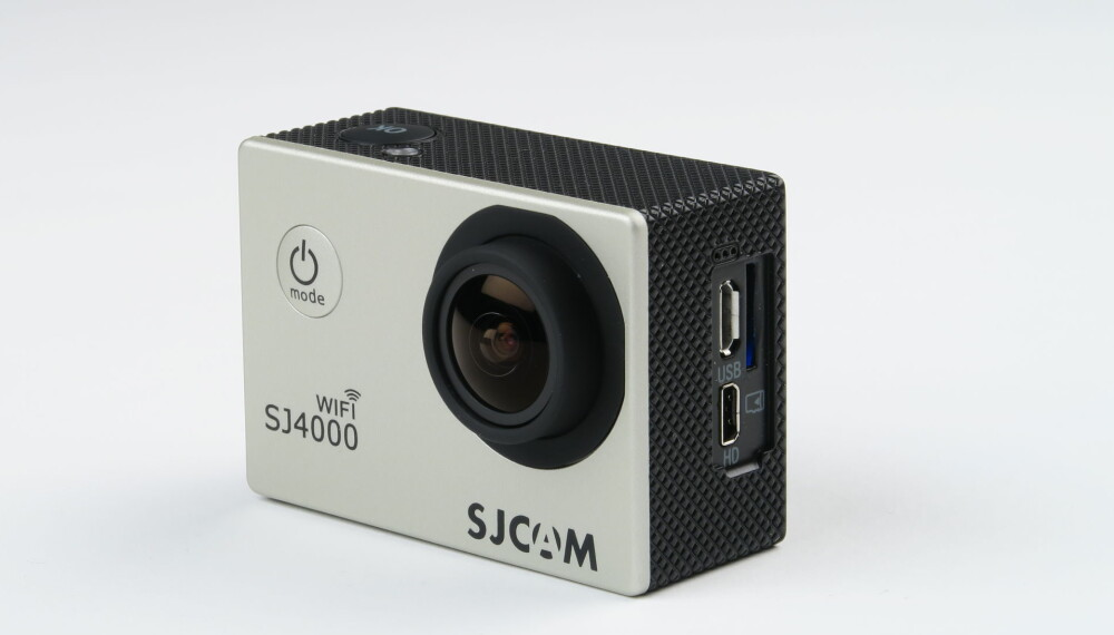 KINA-KAMERA: Sjcam SJ4000 er et billig Kina-kamera som er stappet med funksjonalitet.