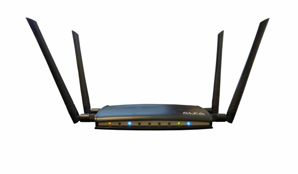 FLEKSIBEL: De fire antennene gjør det enkelt å vikle signalene i ulike retninger.