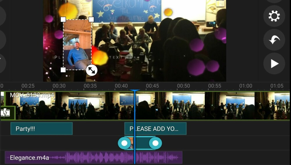 KRAFTIG: PowerDirector er et kraftig videoverktøy for Android-mobiler og -nettbrett.