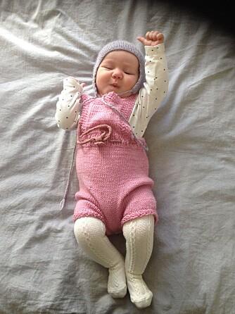 Sophia Paige Muter ble født i Bergen 28. februar i år. Foto: Privat.