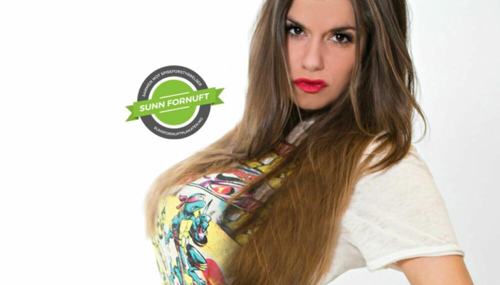 FAKE: Kristin fra Styleconnection lurer på hvor mange likes hun kunne fått på dette bildet.