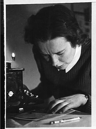 SPION: Astrid Løken arbeidet i XU-Sentralen i Oslo under andre verdenskrig.