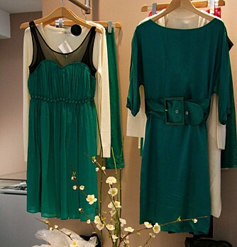 FAVORITT: Klesbutikken Les Petites bugner av nydelige kjoler.