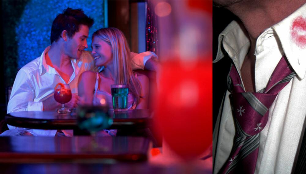 AVSLØRT: Hva gjør du om kjæresten du elsker kommer hjem med leppestift på skjortekanten?