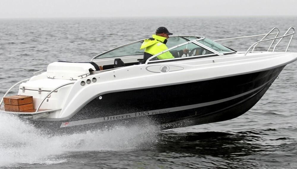 POPULÆR: Leter du etter Uttern D55 som bruktbåt er det ikke vanskelig å finne et eksemplar.