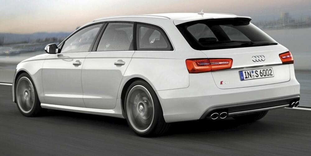 S6: Familiebilen med ekstra futt. FOTO: Audi