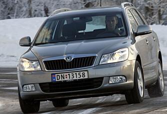 FACELIFT: For årsmodell 2009 kom Skoda Octavia med en stor oppgradering.