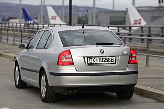 BILLIGST: Kombi- og sedanversjon med bensinmotor er billigste bruktkjøp på Skoda Octavia.