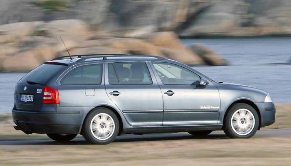 ROBUST: Skoda Octavia har et godt rykte som bruktbil.