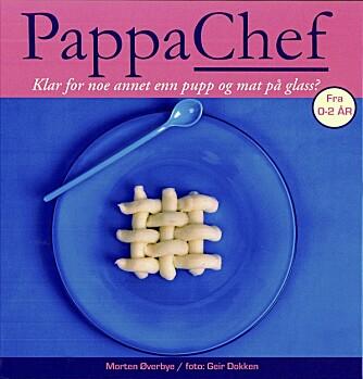 """BARE BARNEMAT: I kokeboka """"Pappachef"""" presenterer Morten Øverbye oppskrifter på sunn, men barnevennlig mat."""