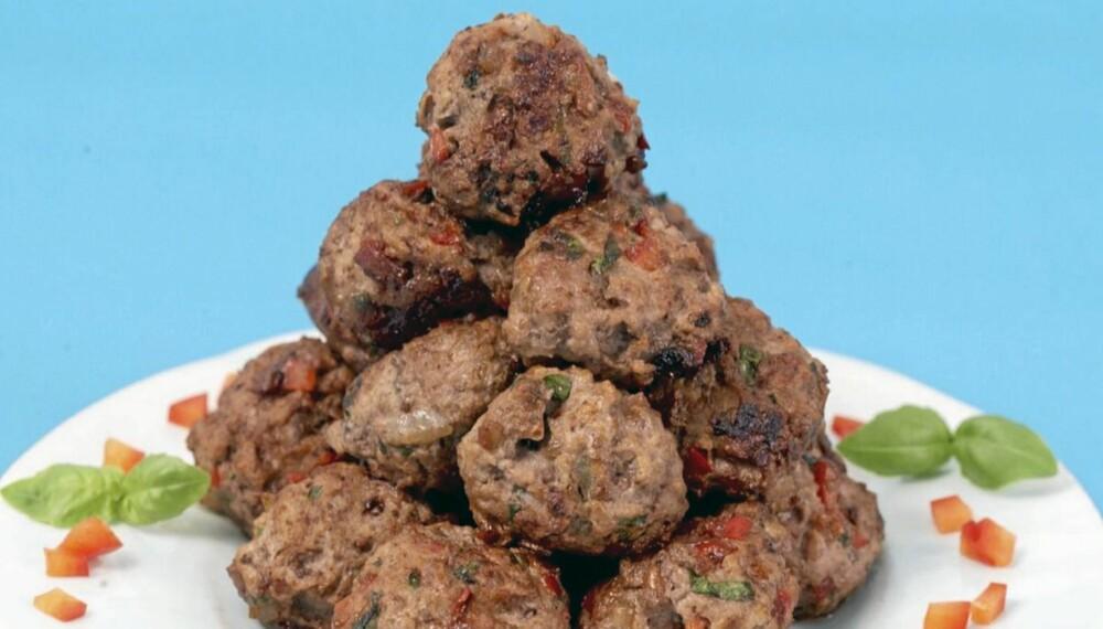 SUNNE KJØTTBOLLER: Kjøttboller er suverene som trojansk hest for å få barn til å spise grønnsaker.