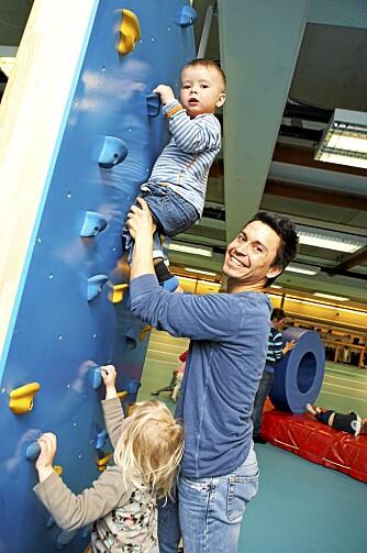 3. PREMIE: En høy andel mannlige ansatte bidrar til å styrke miljøet i aktivitetsrike Ekeberg barnehage.