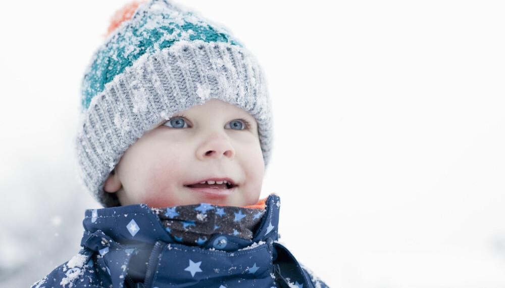 FROSTSKADER BARN: Kuldeskader og frostskader hos barn unngås ikke nødvendigvis av kuldekrem.