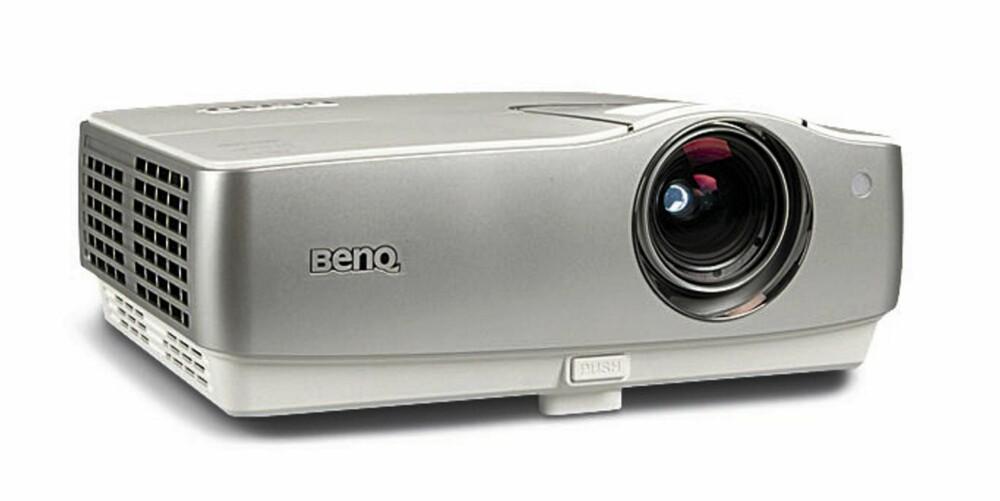BILLIG: Drøyt 7.000 kroner må du ut med for denne full HD projektoren fra BenQ.