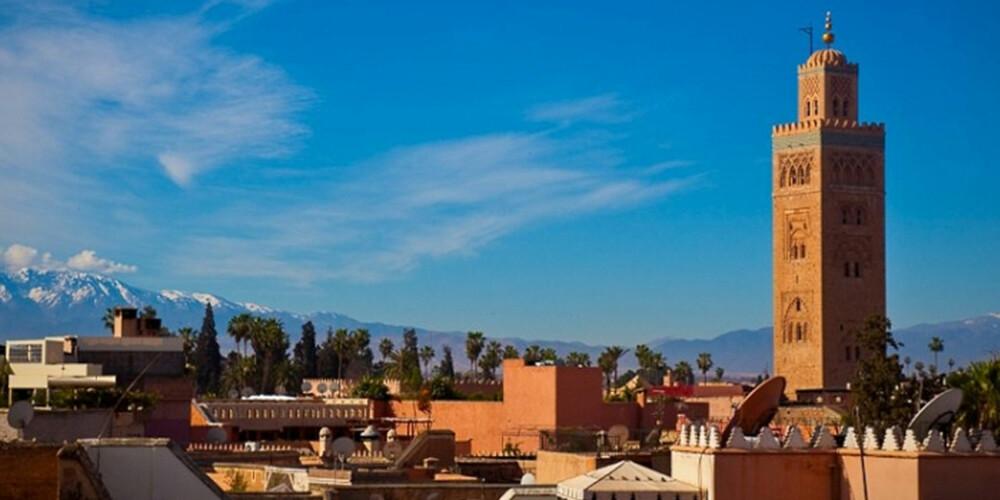 MARRAKESH: La deg forføre av eksotiske Marrakesh.