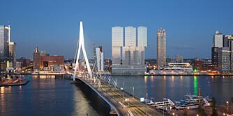 ARKITEKTUR: Rotterdam er ifølge  New York Times en av de hippeste byene i Europa akkurat nå.