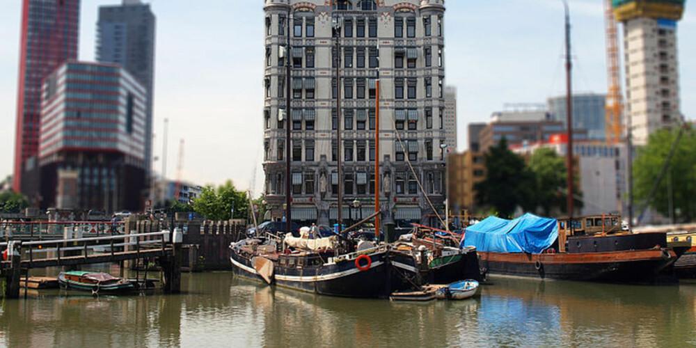 ROTTERDAM: Ifølge New York Times er dette en av Europas mest spennende byer akkurat nå.