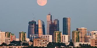 MOR MOSKVA: I denne byen bor det flere milliardærer enn noe annet sted.