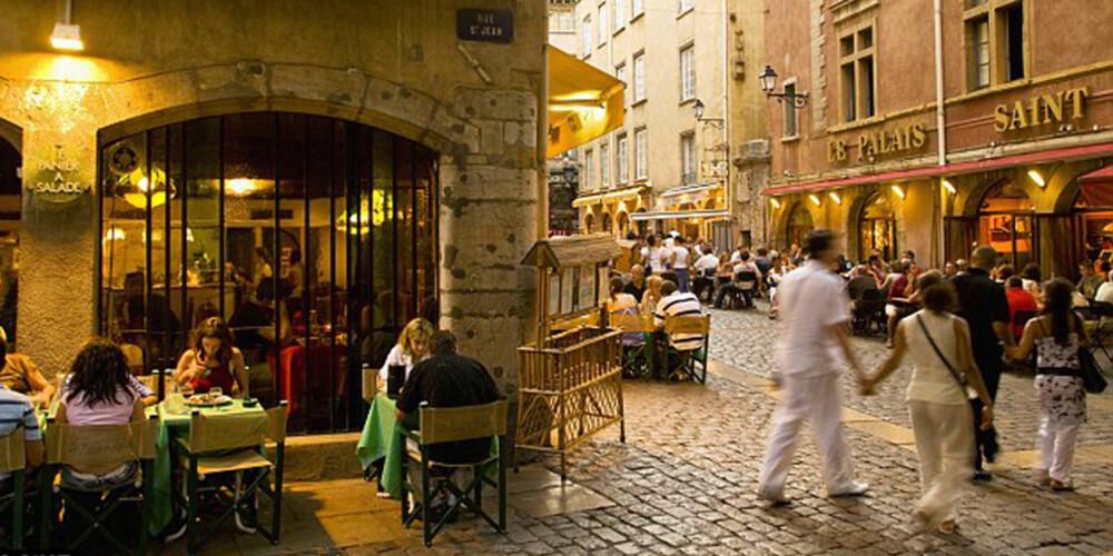 GOURMET-FERIE: Lyon er kjent for sitt fantastiske utvalg resturanter og kafeer.
