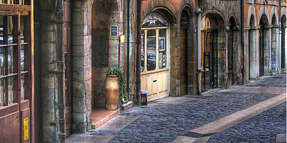 GOURMET: Lyon hylles for maten og det yrende kafe- og resturantlivet.