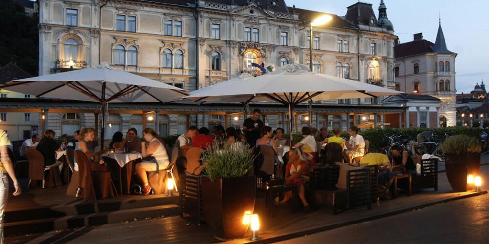LJUBLJANA: Denne byen er minst like romantisk som Praha og Paris.