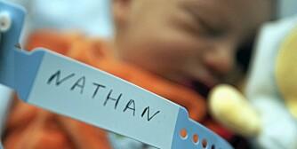 MANGE VELGER SAMME NAVN: Overraskende få sjekker navnestatistikken før de velger navn til barnet sitt, mener Jørgen Ouren ved Statistisk sentralbyrå.