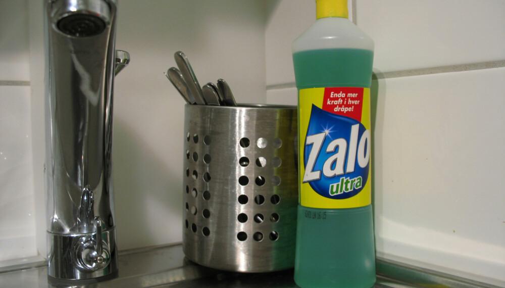 TØFF JOBB: Fasttørkede matrester kan være tøft å fjerne fra en tallerken. En svensk test viser at Zalo vasker mest effektivt og holder lengst.