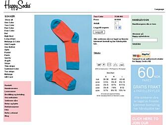 9c54fe41 SOKKER: Sokker trengs ikke prøves først, og er dermed lett å handle på nett