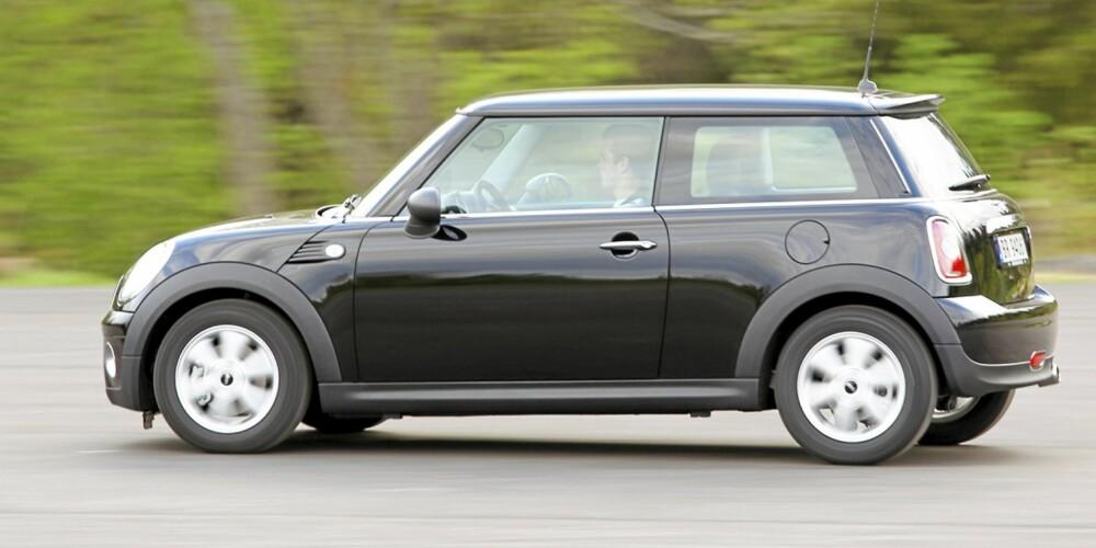 Mini One D er den bilen med lavest forbruk vi har kjørt i vår faste testrunde.