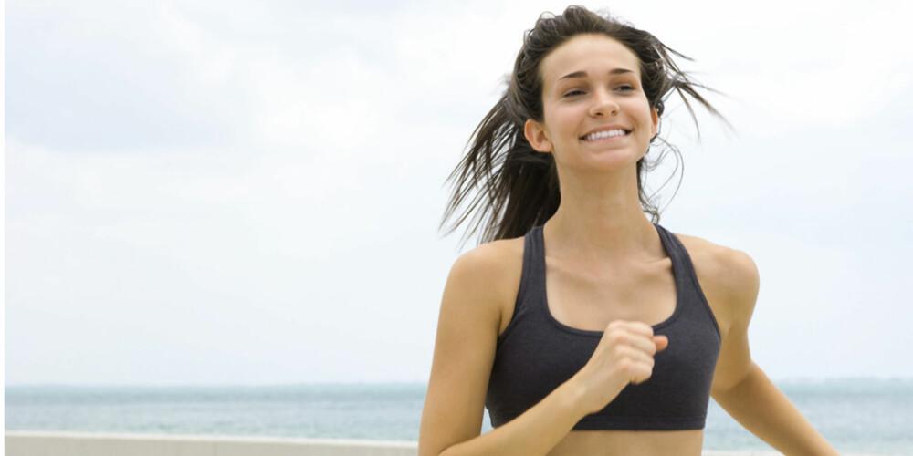 IKKE STRESS: Ekspertene anbefaler å starte rolig, og bygge deg opp.
