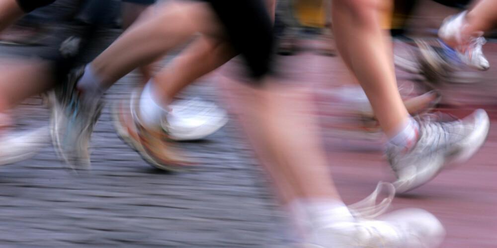 LØP SAMMEN: Å løpe sammen er både sosialt og effektivt.
