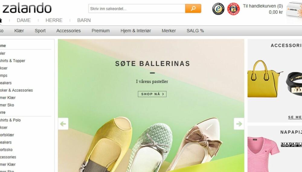 816524b9a Test av nettbutikker - Mote og Shopping