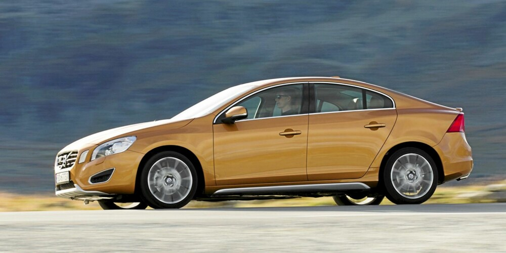 Volvo S60 ser etter vår mening forfriskende moderne ut.