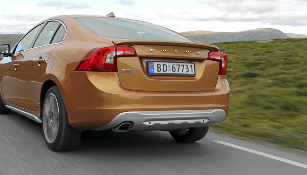 Markant design og sportslige egenskaper kjennertegner den nye Volvo S60