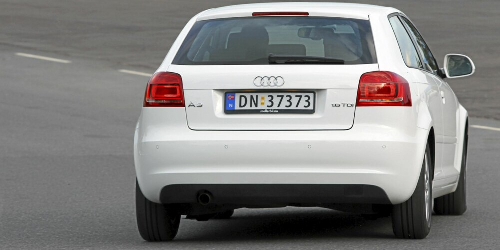Audi A3 har et harmonisk, om ikke altfor spennende ytre.