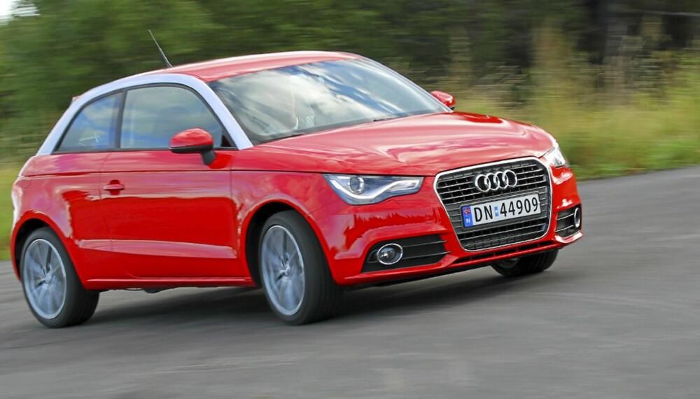 Audi A1 1,6 TDI varter opp med snertent design og fine egenskaper.