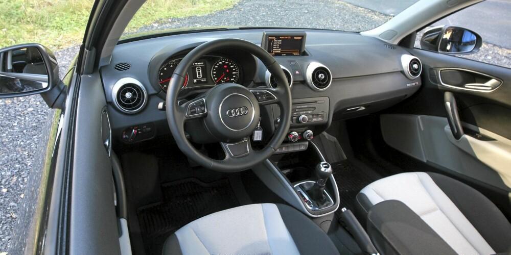 HERLIG: Bak rattet er det fort gjort å tro at man sitter i en langt større bil.