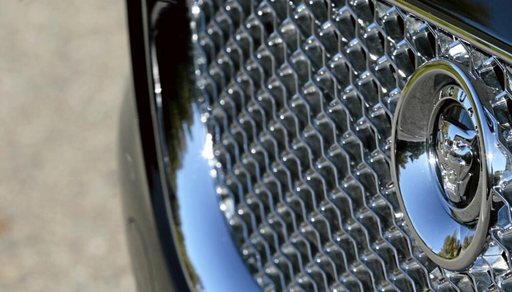 KLASSISK LUKSUSBIL: Jaguar er et merke med stolte tradisjoner når det kommer til luksusbiler.
