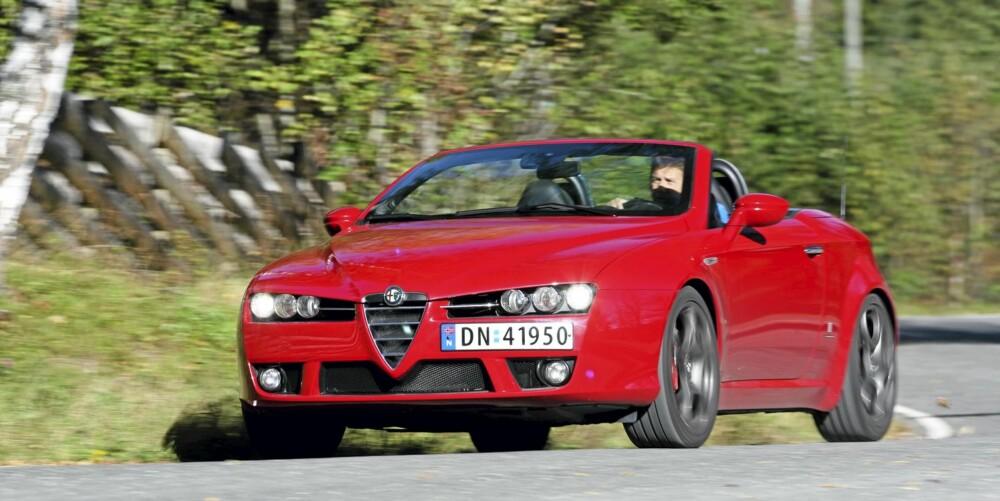 MANGLER STIVHET: Hele bilen vrir seg når man presser den i svingene.