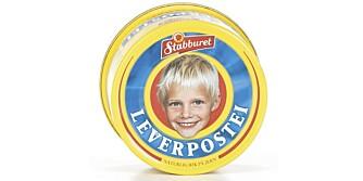 LEVERPOSTEI: Denne typen er populær blant barna, men inneholder mye fett.
