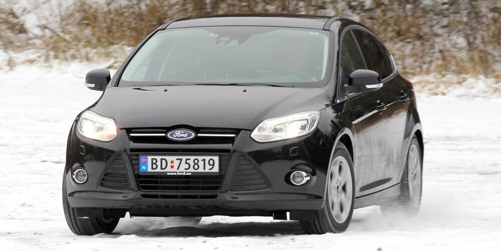 DUELLANT: Ford Focus 1,6 TDCi Titanium. FOTO: Petter Handeland