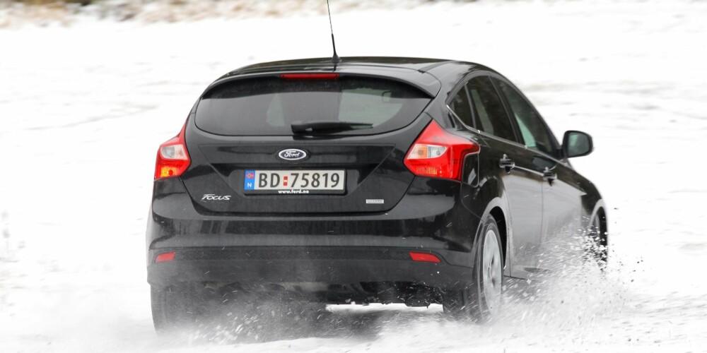 BEST I TEST: Ser du på «best mulig bil for minst mulig penger» er det Ford Focus som går av med seieren. FOTO: Petter Handeland