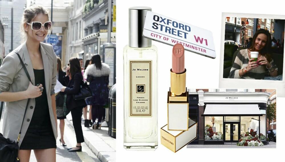 London er en klar favoritt blant norske fashionistaer! Det Nyes skjønnhetsansvarlig har bodd i byen, og må alltid en tur innom Jo Malone-parfymeriet når hun er der.