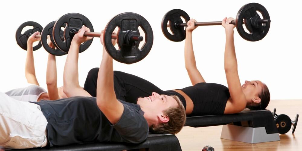 TREN STYRKE: - Intervalltrening, gjerne kombinert med hard styrketrening, kan endre nivå på magefettet, sier personlig trener Inge Thomas Ravlo