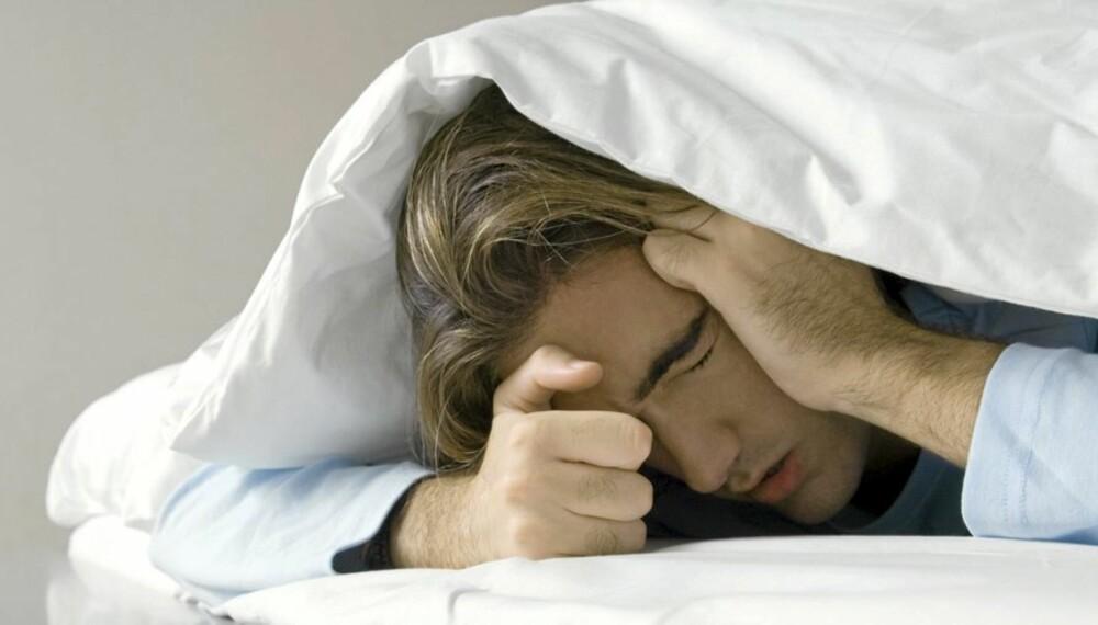 HOLD SENGA: Hvis du har feber skal du holde deg hjemme fra jobb i syv dager.