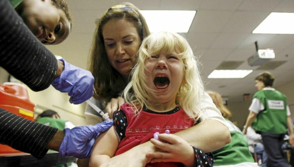SVINEINFLUENSA: Mange nordmenn ønsker vaksinering.