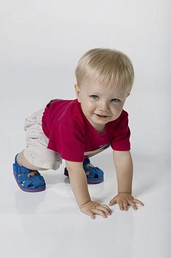 TRIVSEL: Krabber minsten fornøyd inn i barnehagen, er det et tegn på trivsel.