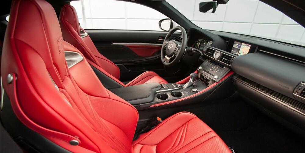 LEXUS: En kokong av enkel og rolig komfort som gjør det behagelig å cruise rundt i byen. FOTO: Lexus